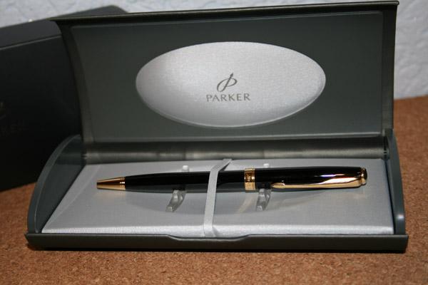 Ручка Parker с лазерной гравировкой